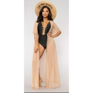 Fashion Nova beach cover up